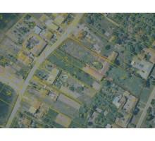 Veřejná dobrovolná dražba pozemků pro výstavbu Vyškov - Lhota - Lokace pozemků v kat. mapě