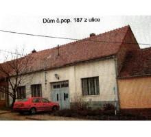 Veřejná nedobrovolná dražba rodinného domu Křepice -
