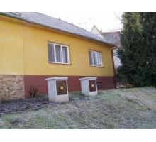 Veřejná dobrovolná dražba rodinného domu 4+1 v Kloboukách u Brna - Pohled průčelí
